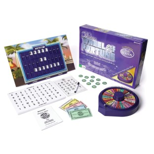 WHEEL OF FORTUNE DELUXE GAME