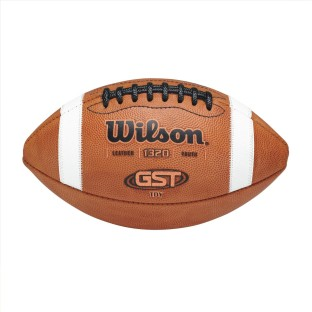 WILSON GST YOUTH LTHR FTBALL