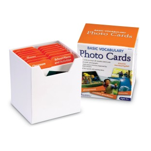 BASIC VOCABULARY PHOTO CARDS