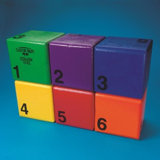 GATORSKIN BLOCK SPECTRUM 6 BALL SET