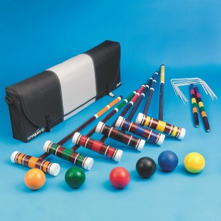 ADVANCED SIX PLAYER CROQUET SET