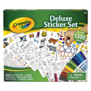 CRAYOLA STICKER SET