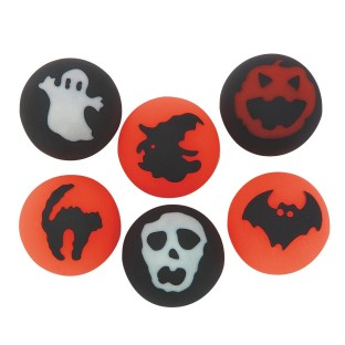 HALLOWEEN HI BOUNCE BALL PK12