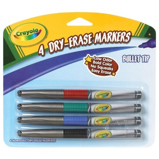 DRY ERASE FINELINE SET 4