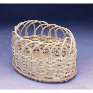 BASKET REED OVAL 4X6IN  PK/36