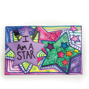 I AM A STAR PLACEMAT PK/12