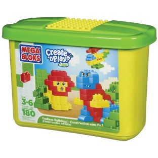 MEGA BLOKS MINI BLOKS SET OF 180