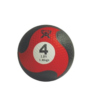 RUBBER 4 POUND MEDICINE BALL