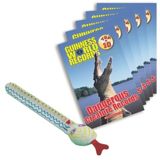 LITERACY FUN PACK DANGEROUS CREATURE RECORDS