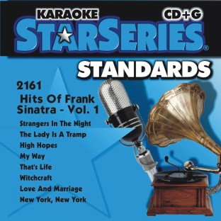 HITS OF FRANK SINATRA VOL 1 KARAOKE CD