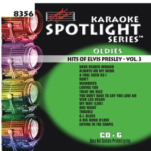 HITS OF ELVIS PRESLEY VOL 3 KARAOKE CD+G