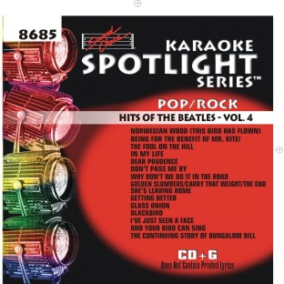 HITS OF THE BEATLES VOL 4 KARAOKE CD+G