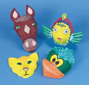ANIMAL FACE FORMS PK/5