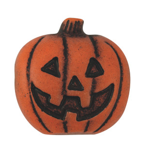 PUMPKIN FOCAL BEADS PK50
