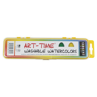 Art-Time® Washable Watercolor 8 Oval Sargent