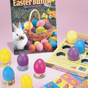 EASTER EGG COLORING KIT PK/12