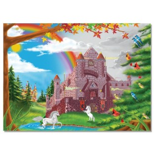 ENCHANTED CASTLE PUZZLE 60 PC