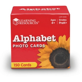 ALPHABET PHOTO CARDS SET OF 150