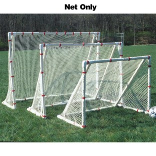 SOCCER GOAL NET 2.5 MM 4X6 WHITE
