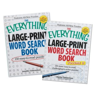 EVERYTHING LARGE PRINT WORD SEARCH BOOK SET2