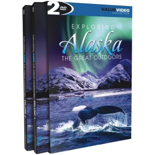 EXPLORING ALASKA  DVD SET OF 2