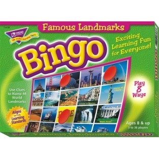 WORLD LANDMARK TRIVIA BINGO