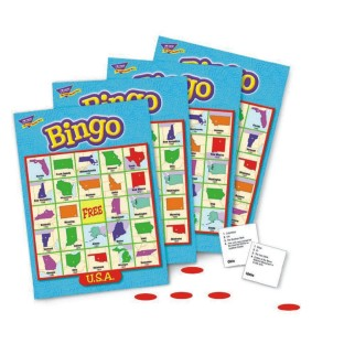 USA TRIVIA BINGO GAME