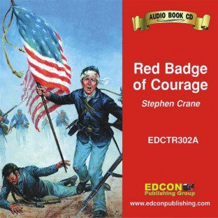 RED BADGE OF COURAGE AUDIO BOOK ON CD