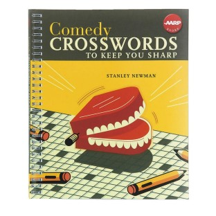 COMEDY CROSSWORDS PUZZLE BOOK