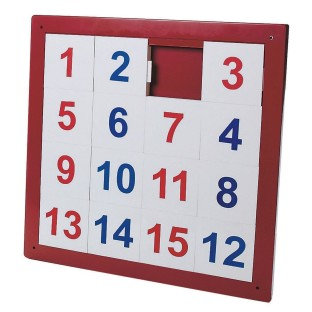NUMBER PUZZLE WALL PANEL