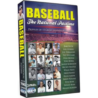 GREATEST SPORTS LEGENDS BASEBALL DVD SET