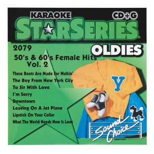 50S AND 60S FEMALE HITS CD