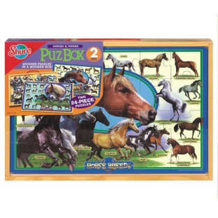 2 IN 1 HORSE BREED PUZZLES