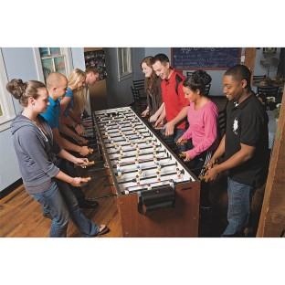 JUMBO 8 PLAYER FOOSBALL TABLE