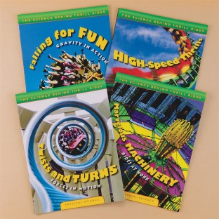 THE SCIENCE BEHIND THRILL RIDES 4 BOOK SET