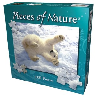 POLAR BEAR LION AND TIGER PUZZLE SET