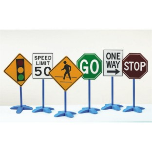 Traffic Signs, Set of 6