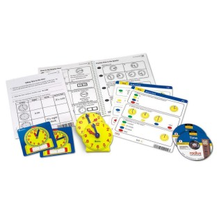 RADIUS CD CARD SET MATH TIME GR 1 TO 2