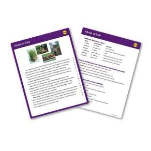 READING FLUENCY CARD SET GRADE 6