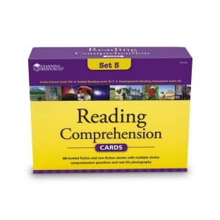 READING COMPREHENSION CARD SET 5