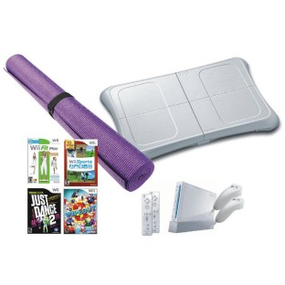 NINTENDO WII AND WII FIT EASY PACK