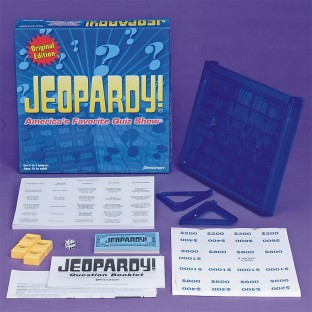 JEOPARDY BOARD GAME