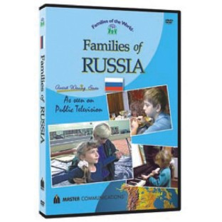 FAMILIES OF THE WORLD DVD RUSSIA
