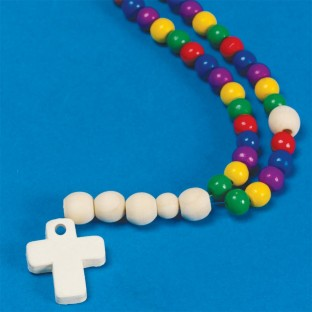 BEADED ROSARY KIT PK/12