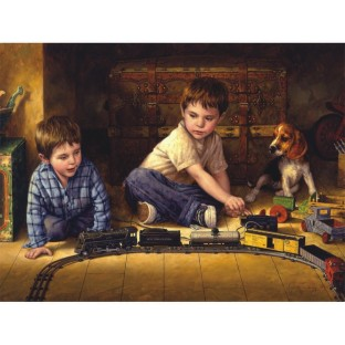 ATTIC TREASURE JIGSAW PUZZLE 275 PCS