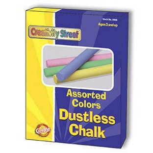 ASSORTED COLORS CHALK BX12 PK/8