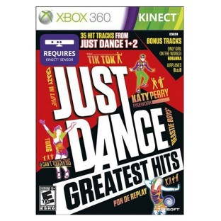 XBOX KINECT JUST DANCE GREATEST HITS