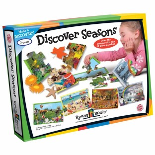 DISCOVER SEASONS PUZZLE SET