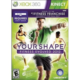 XBOX KINECT YOUR SHAPE FITNESS EVOLVED 2012