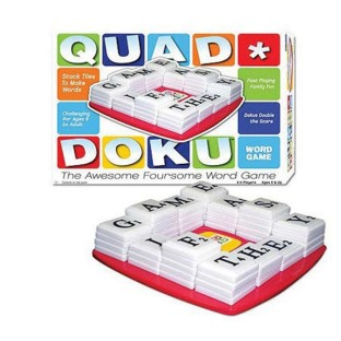 QUAD DOKU WORD GAME